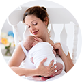 Hypnotherapy for calmer childbirth